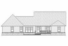 Home Plan - Craftsman Exterior - Rear Elevation Plan #21-308