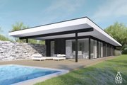 Modern Style House Plan - 3 Beds 2 Baths 1495 Sq/Ft Plan #552-7 Exterior - Covered Porch