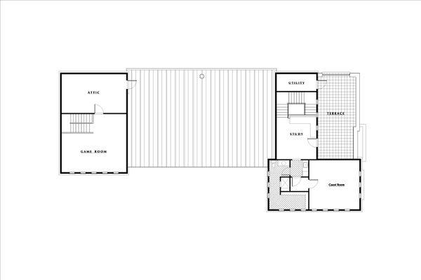 European Floor Plan - Other Floor Plan Plan #531-3