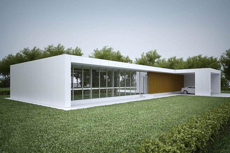 Home Plan - Modern design, elevation