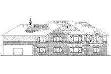House Plan Design - Traditional Exterior - Rear Elevation Plan #5-292