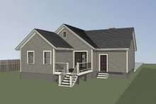 House Plan Design - Bungalow Exterior - Other Elevation Plan #79-310
