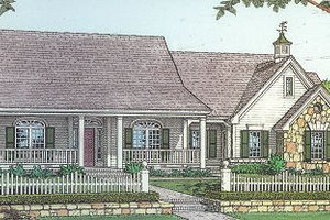 Traditional Exterior - Front Elevation Plan #310-612