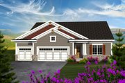 Ranch Style House Plan - 3 Beds 2 Baths 1660 Sq/Ft Plan #70-1162