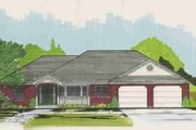 Traditional Style House Plan - 2 Beds 1.5 Baths 1808 Sq/Ft Plan #308-119 Exterior - Front Elevation