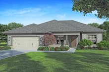 Craftsman Exterior - Front Elevation Plan #938-100