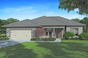 Dream House Plan - Craftsman Exterior - Front Elevation Plan #938-100