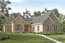 Architectural House Design - European Exterior - Front Elevation Plan #430-119