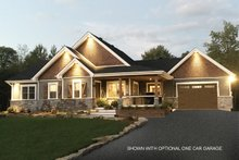 House Plan Design - Ranch Exterior - Front Elevation Plan #23-2565