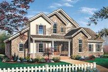 Home Plan - European Exterior - Front Elevation Plan #23-232