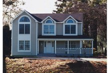 Dream House Plan - Country Exterior - Front Elevation Plan #3-166