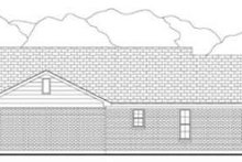 Country Exterior - Rear Elevation Plan #406-148