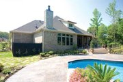 European Style House Plan - 3 Beds 3.5 Baths 4121 Sq/Ft Plan #17-628 Exterior - Other Elevation