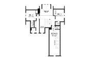Contemporary Style House Plan - 3 Beds 2.5 Baths 2492 Sq/Ft Plan #48-993 Floor Plan - Upper Floor