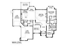 Traditional Floor Plan - Main Floor Plan Plan #920-44
