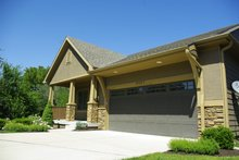 Architectural House Design - Cottage Exterior - Front Elevation Plan #20-2413
