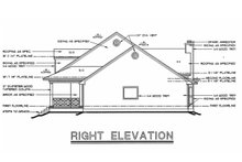 Home Plan - Southern Exterior - Other Elevation Plan #20-254