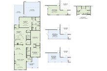 Traditional Floor Plan - Main Floor Plan Plan #17-2421