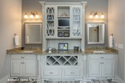 Traditional Style House Plan - 3 Beds 2.5 Baths 2477 Sq/Ft Plan #929-792 Interior - Master Bathroom