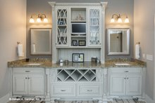 Architectural House Design - Traditional Interior - Master Bathroom Plan #929-792