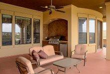 Dream House Plan - European Exterior - Covered Porch Plan #80-160