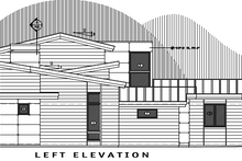 Contemporary Exterior - Other Elevation Plan #892-10