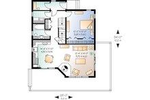 Contemporary Floor Plan - Main Floor Plan Plan #23-2175