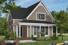 Dream House Plan - Country Exterior - Front Elevation Plan #23-228
