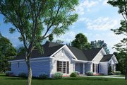 Ranch Style House Plan - 3 Beds 2.5 Baths 2096 Sq/Ft Plan #17-174