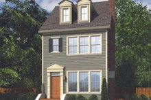 House Plan Design - Colonial Exterior - Front Elevation Plan #48-1011