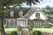 Dream House Plan - European Exterior - Front Elevation Plan #137-153