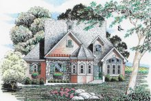 Traditional Exterior - Front Elevation Plan #405-335