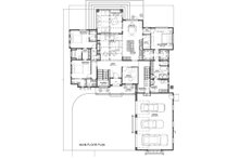 Farmhouse Floor Plan - Main Floor Plan Plan #1069-18