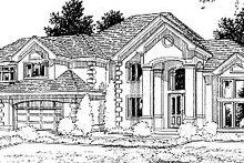 Home Plan - European Exterior - Front Elevation Plan #94-209
