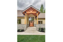 Dream House Plan - Craftsman Exterior - Front Elevation Plan #124-988