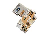 European Style House Plan - 4 Beds 2 Baths 2766 Sq/Ft Plan #25-4713 Floor Plan - Main Floor Plan