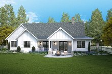 Home Plan - Farmhouse Exterior - Rear Elevation Plan #928-361
