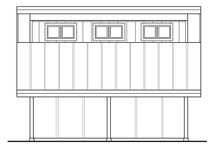 House Plan Design - Country Exterior - Other Elevation Plan #124-985