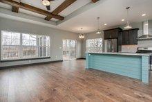 Dream House Plan - Ranch Interior - Dining Room Plan #70-1497