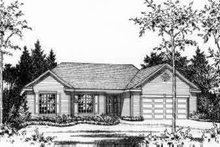House Plan Design - Traditional Exterior - Other Elevation Plan #22-465