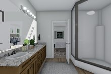 Architectural House Design - Traditional Interior - Master Bathroom Plan #1060-100