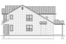 Farmhouse Exterior - Other Elevation Plan #126-213