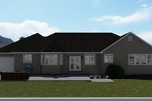Home Plan - Farmhouse Exterior - Rear Elevation Plan #1060-47