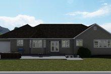 Dream House Plan - Farmhouse Exterior - Rear Elevation Plan #1060-47