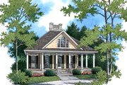 Southern Style House Plan - 2 Beds 2.5 Baths 1274 Sq/Ft Plan #45-315 Exterior - Front Elevation