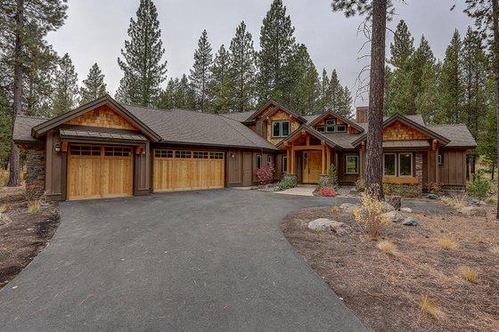 House Design - Craftsman Exterior - Front Elevation Plan #892-29