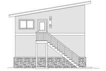 Contemporary Exterior - Rear Elevation Plan #932-246