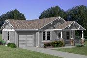Craftsman Style House Plan - 3 Beds 2 Baths 1064 Sq/Ft Plan #116-163