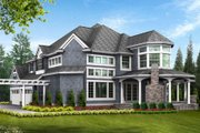 Victorian Style House Plan - 4 Beds 4.5 Baths 5250 Sq/Ft Plan #132-175
