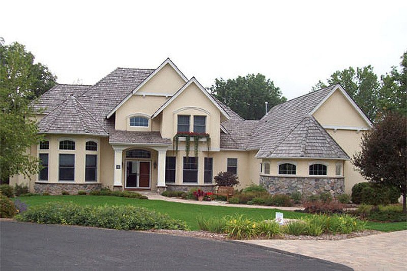 Dream House Plan - European Exterior - Front Elevation Plan #56-591